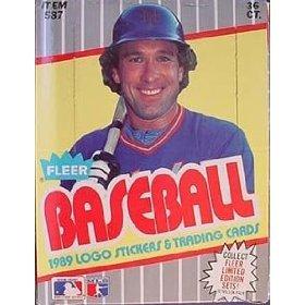 1989 Fleer Baseball Unopened Box