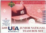 2005 Upper Deck Junior National Team Box Set