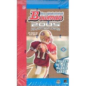 2005 Bowman Football Sealed Hobby Box