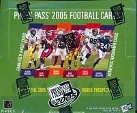 2005 Press Pass Football Sealed Hobby Box