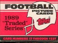 1989 Topps Update Football Complete Set