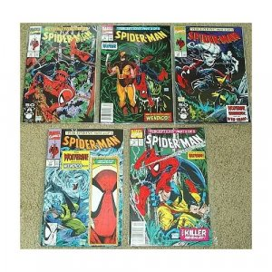 Spider-Man Perceptions Issues # 8-12 Complete set of 5
