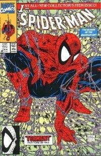 Spider-Man #1 Green Edition-Todd McFarlane Near Mint