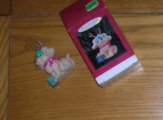 1994 Secret Santa Hallmark Ornament