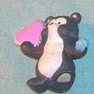 1993 Hallmark Merry Miniature Skunk with Heart