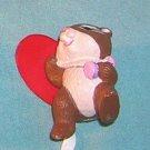 1993 Hallmark Merry  Miniature Chipmunk with Heart