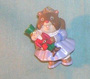 1995 Hallmark Merry Miniature Squirrel with Nut Cracker