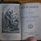 1920s Vintage Prayerbook Key of Heaven