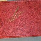 Vintage 1930s Autograph Book