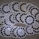 Lot of 1940s and 1950s View Master Reels   - 70 in all