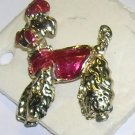 Adorable Vintage  Poodle Pin 1960s