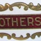 "Vintage Enamel 3/4""  OTHERS Pin"