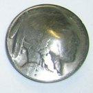 United States Buffalo Nickel Button - No Date