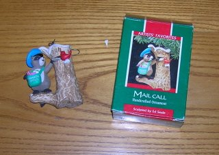 1989 Mail  Call Hallmark Ornament 1989