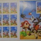 Full Sheet Loony Tunes Stamps