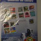 1960s The Rebelous Sixties and Man on the Moon stamps MIP
