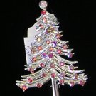 DODDZ Christmas Tree Rhinestone  Brooch / Pin