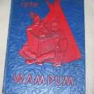 Vintage Wampum Binghamton North High School Yearbook 1954