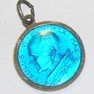 Vintage Religious Fine Enameled Medal of Pope Paul VI