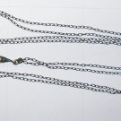 Antique Ladies Silver Slide Chain for Pocket or Pendant Watch Circa 1900