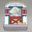1986 Windows of the World #2 Vrolyk Kerstfeest Hallmark Ornament