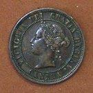 1882H Canadian Cent