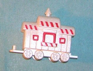1990 Hallmark Merry Miniature Candy Caboose