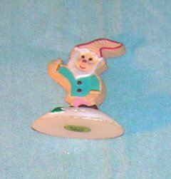 1991 Hallmark Merry Miniature Cookie Elf