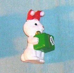 1991 Hallmark Merry Miniature Christmas Bunny