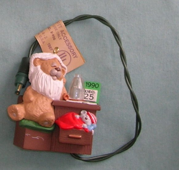 1990 Beary Short Nap Hallmark Ornament