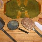 Art Deco Vanity Set- 8 pcs