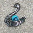 Beau Stering Swan Charm