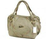 Lovely weave accented hobo handbag purse