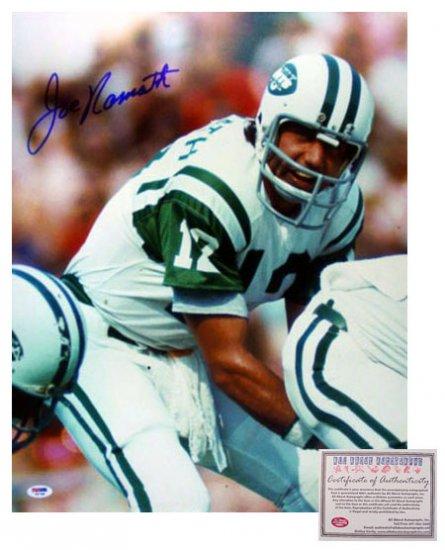 Joe Namath Autographed Photo - 16x20