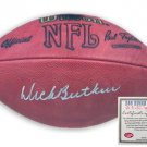 Dick Butkus Autographed Football