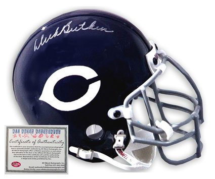 Dick Butkus Autographed Football Helmet - Replica