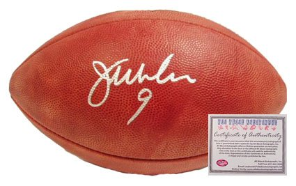 Jim McMahon Autographed Football