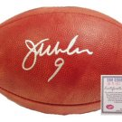 Jim McMahon Autographed Football