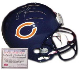 Jim McMahon Autographed Helmet- Replica