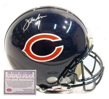 Jim McMahon Autographed Football Helmet- Full Size Proline