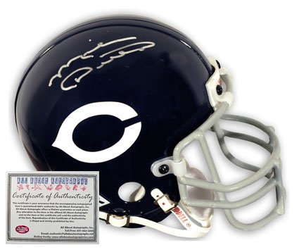 Mike Ditka Autographed Helmet - Full Siz Throwback Proline