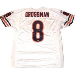 Rex Grossman Autographed Jersey - Official