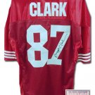 Dwight Clark Autographed Jersey- Authentic