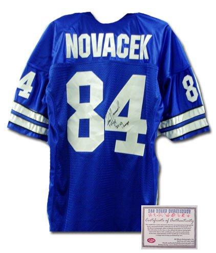 Jay Novacek Signed Jersey - Authentic
