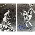 Roger Staubach & Drew Pearson Dual Autographed Photo - Hail mary 16 x 20
