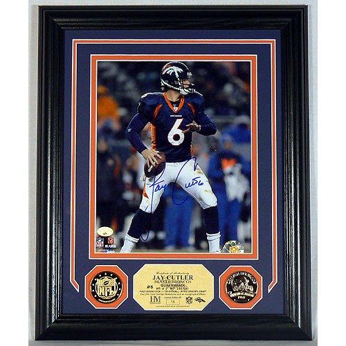 Jay Cutler Denver Broncos Autographed Photo Mint