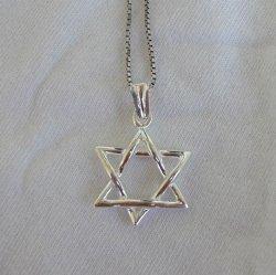 Small Star of David pendant