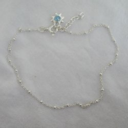 Anklet-blue star