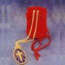 Jewelry cross with bag