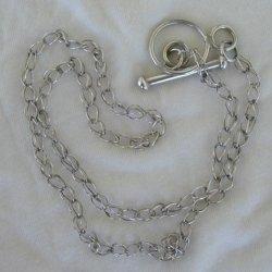 Maskit silver  necklace